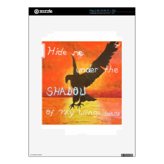 shadowwings iPad 2 decal