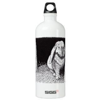shadowy rabbit animal drawing SIGG traveler 1.0L water bottle