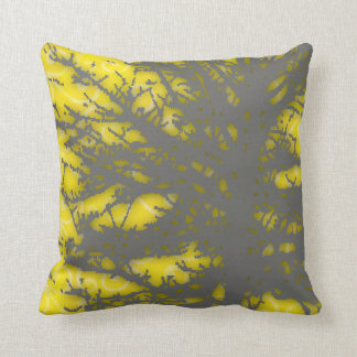 Shadowy Tree 3 Square Throw Pillow