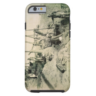 Shadufs in Upper Egypt (sepia photo) Tough iPhone 6 Case