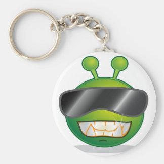 Shady Alien Keychain