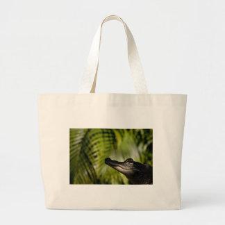 Shady Alligator apron Jumbo Tote Bag