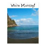 Shady Beach Runaway; Change of Address Post Cards