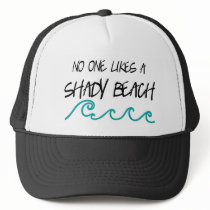 Shady Beach Trucker Hat