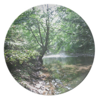 Shady Creek Melamine Plate
