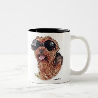 Shady Dog Two-Tone Coffee Mug