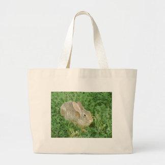Shady Greens Bunny Jumbo Tote Bag