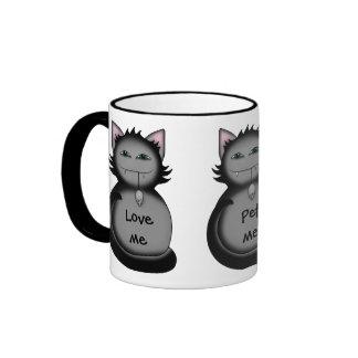 Shady kitty cat mugs