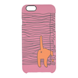 Shady Kitty Uncommon Clearly™ Deflector iPhone 6 Case