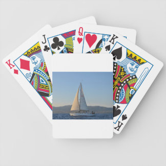 Shady Lady In The Early Morning Bicycle Poker Deck