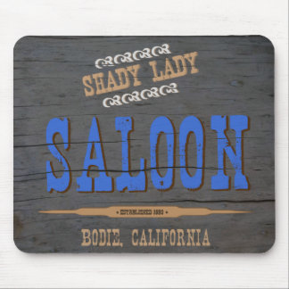 Shady Lady Saloon Mouse Pad