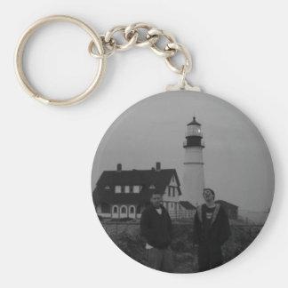 Shady Logic Lighthouse Keychain