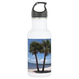 Shady Oasis #2 18oz Water Bottle