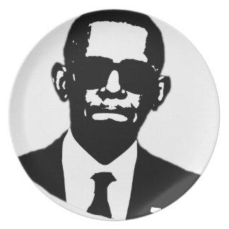 Shady Obama Plate