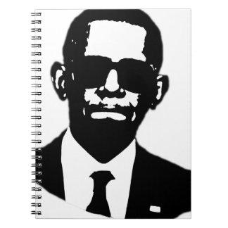Shady Obama Spiral Notebook