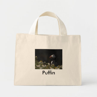 Shady Puffin, Puffin Tote Bag