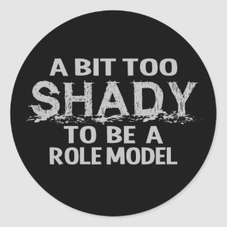Shady Role Model stickers
