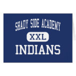 Shady Side Academy Indians Middle Pittsburgh Card