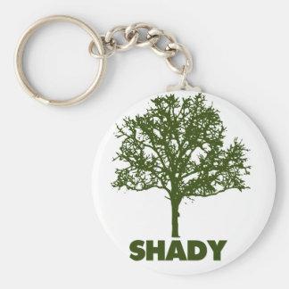 Shady Tree GO Green Humor Basic Round Button Keychain