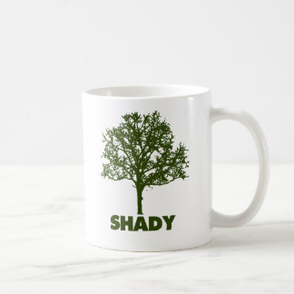 Shady Tree GO Green Humor Coffee Mug