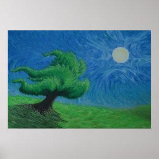 Shady Tree Poster