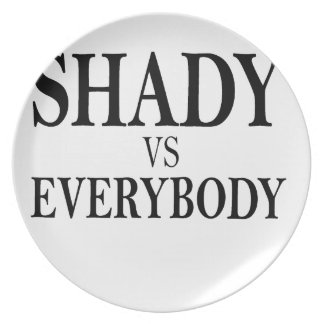 SHADY VS EVERYBODY T-Shirts l.png Dinner Plates