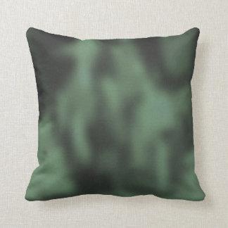 Shady Yellow & Green NYC Sidewalk Activity Throw Pillow