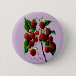 Shafer's colossal raspberries button