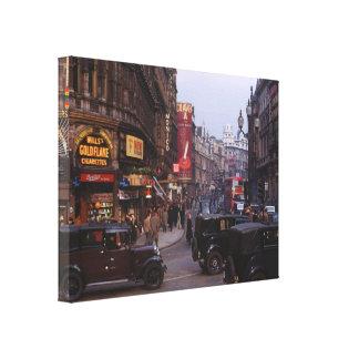 Shaftesbury Avenue 1949 Canvas Print