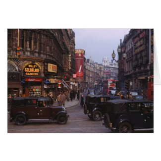 Shaftesbury Avenue 1949 Card