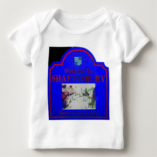 Shaftesbury Blue Red Baby T-Shirt