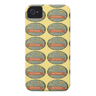 Shaftesbury Cake Packaging Label iPhone 4 Case
