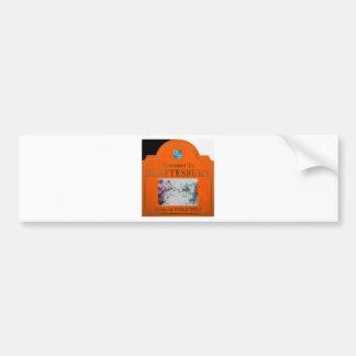 Shaftesbury Orange Bumper Sticker