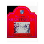 Shaftesbury Red Pink Post Cards