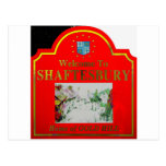 Shaftesbury Red Yellow Post Card