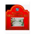 Shaftesbury Red Yellow Postcard