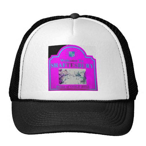 Shaftesbury Torquise rosado Gorras De Camionero