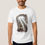 Shafts of sunlight pour through the windows tshirt