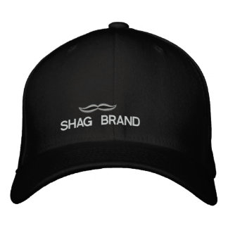 SHAG BRAND EMBROIDERED HAT