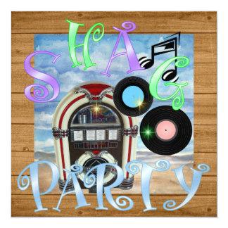 Shag - Dance Party Invitation