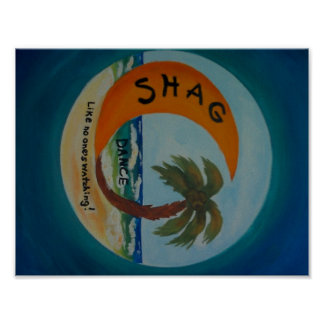 Shag Dance Poster Color