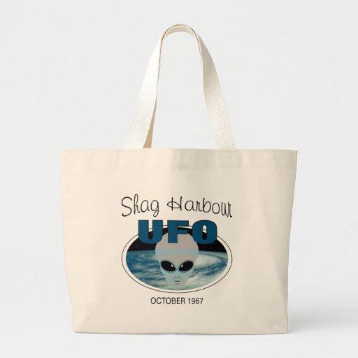Shag Harbour Nova Scotia Canvas Bags
