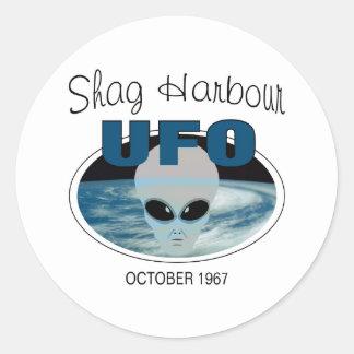 Shag Harbour Nova Scotia Classic Round Sticker