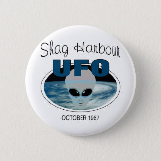 Shag Harbour Nova Scotia Pinback Button