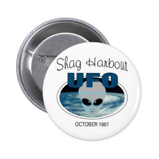 Shag Harbour Nova Scotia Pinback Button