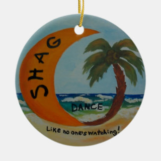 SHAG Like no one's watching! Ornament color