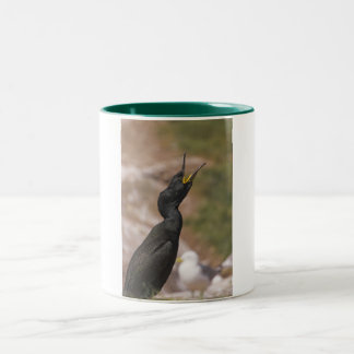 Shag Long Necked Bird Mug