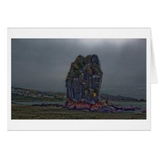 Shag Rock, Sumner, Christchurch, New Zealand Card