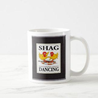 Shag Southern Fried Dancing A/W Mug by Shag Stuff