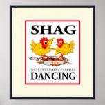 Shag Southern Fried Dancing B/C/R Poster